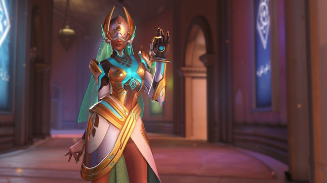 If you're not using a checklist, you might miss this incredible Symmetra skin.