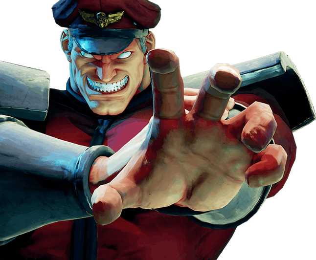 It's not hard to tell: M. Bison is evil.