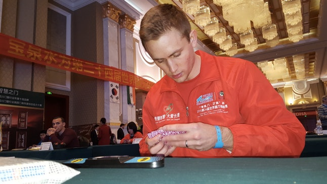 Mullen at the World Memory Championships