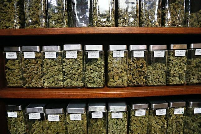Marijuana for sale at a dispensary in Boulder, Colorado