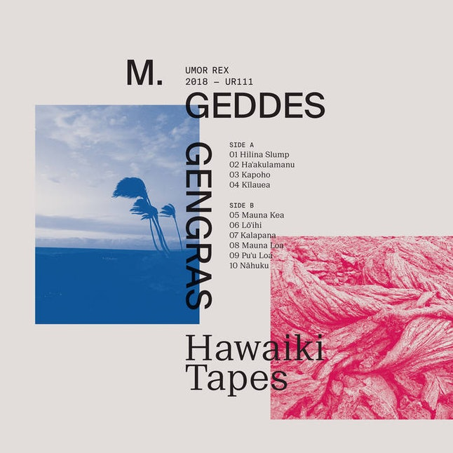 The album art for Hawaiki Tapes.