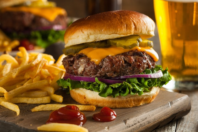 Men tend to crave savory foods like French fries or barbecue.