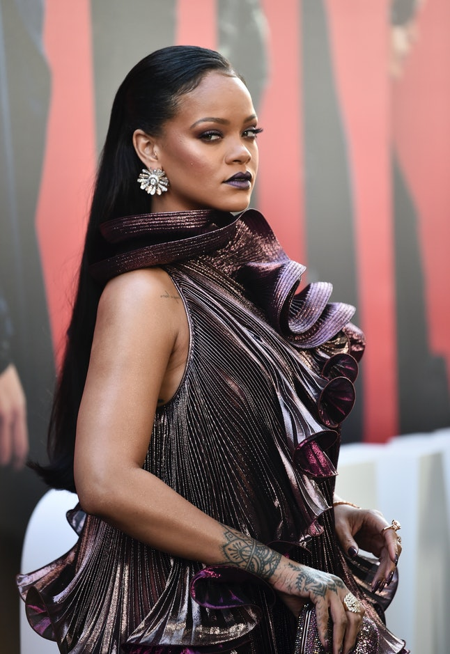 Rihanna attends the world premiere of 'Ocean's 8'