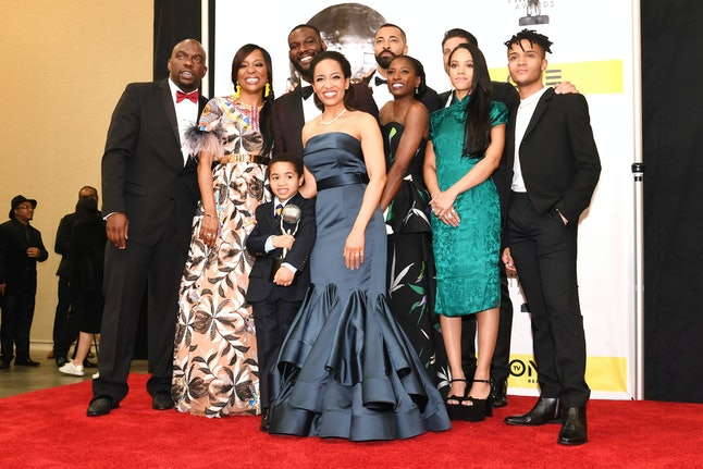 The cast of 'Queen Sugar' at the 48th NAACP Image Awards