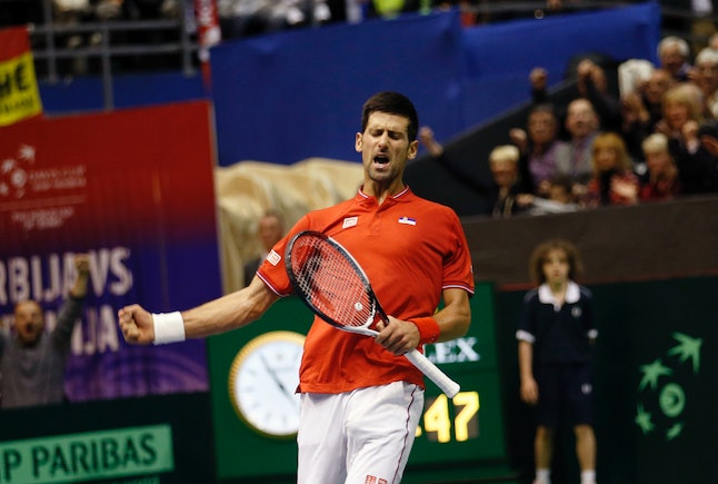 Novak Djokovic is the first tennis player in history to earn $20 million in prize money in one season.