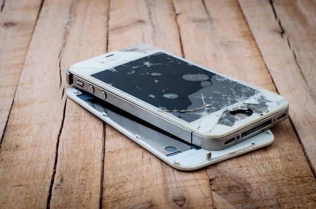 Broken iPhone