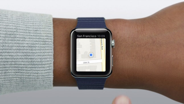 Apple Watch's Maps app