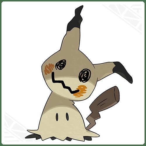 'Pokémon Sun and Moon' team builder: Mimikyu