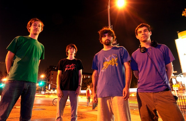 Animal Collective in 2007