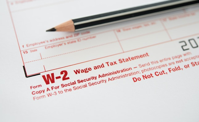 To apply for financial aid, you'll need your income tax return and your W2 as proof of earnings. If you're a dependent, you'll need your parents' forms as well.