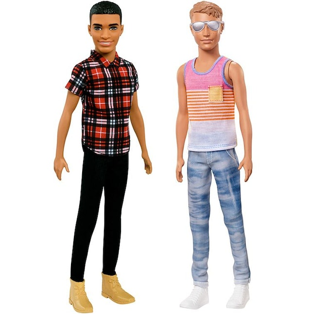The slim Ken dolls