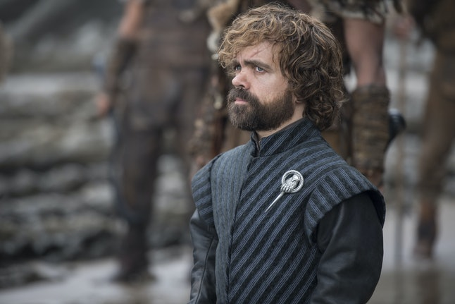Who is Tyrion waiting for?
