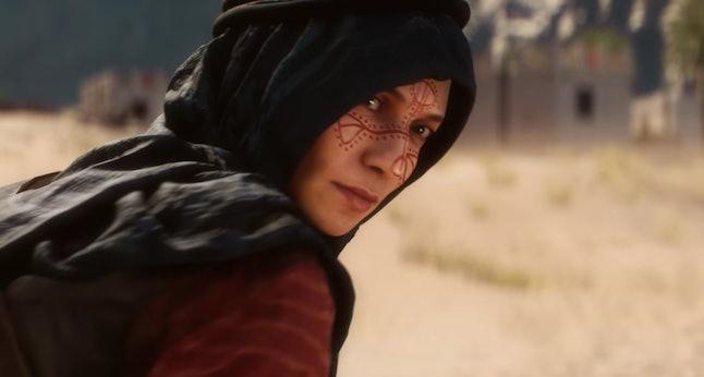 Zara in the 'Battlefield 1' campaign