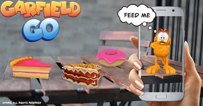 Some of the treats in 'Garfield Go' you can feed Garfield