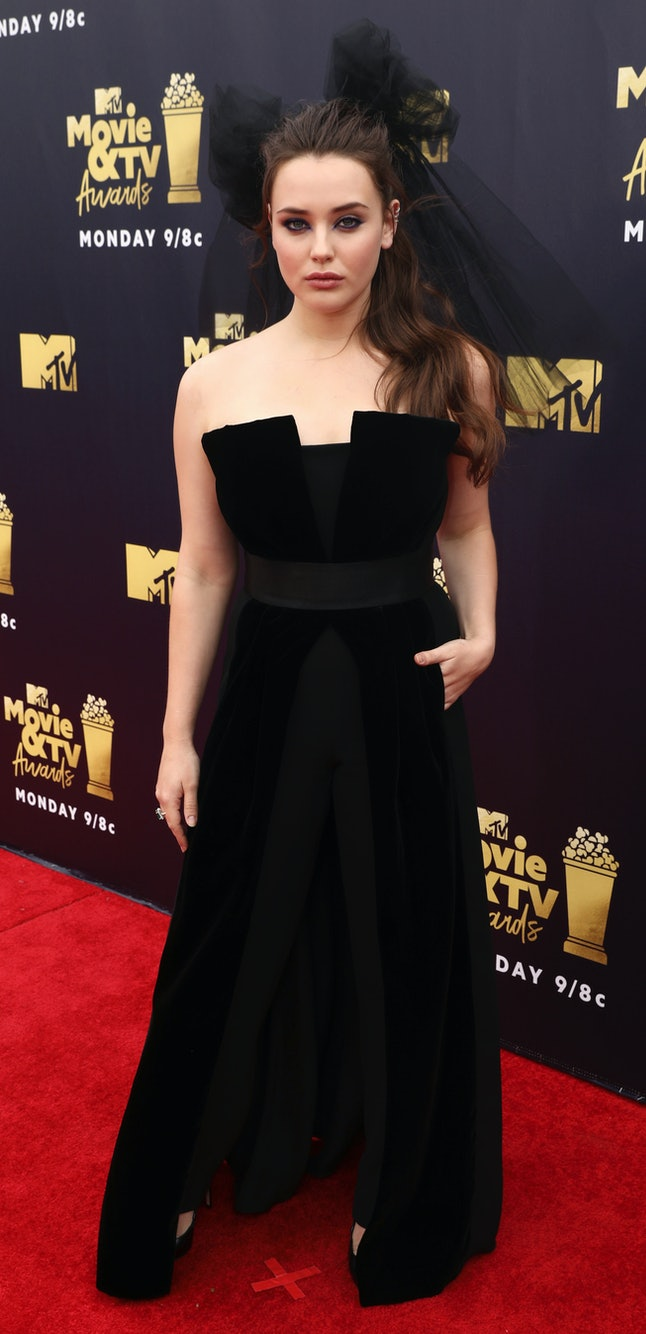 Katherine Langford at the 2018 MTV Movie and TV Awards