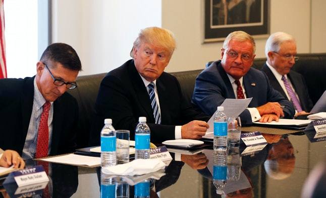 Trump's first cabinet appointments, as well as the majority of remaining candidates, are all white men.