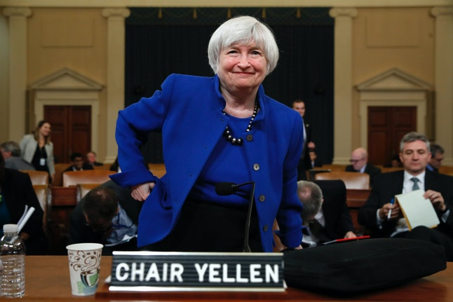 Starting next year, Janet Yellen will no longer be Chairman of the Federal Reserve.