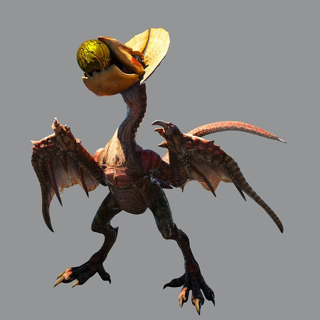 For a lot of hunters, the first wyvern you fought in 'Monster Hunter' was the last — the chickenesque Yian Kut-Ku.