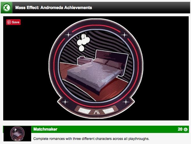 me andromeda achievements