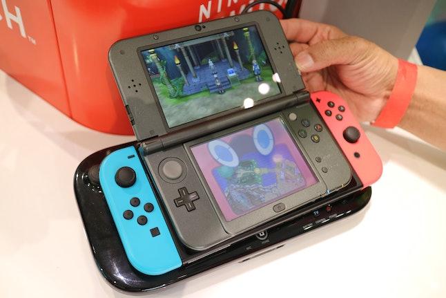 Nintendo Switch vs. 3DS vs. Wii U GamePad
