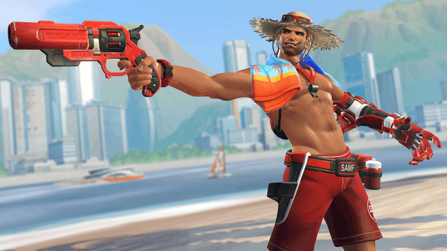 McCree's new 'Overwatch' Summer Games skin