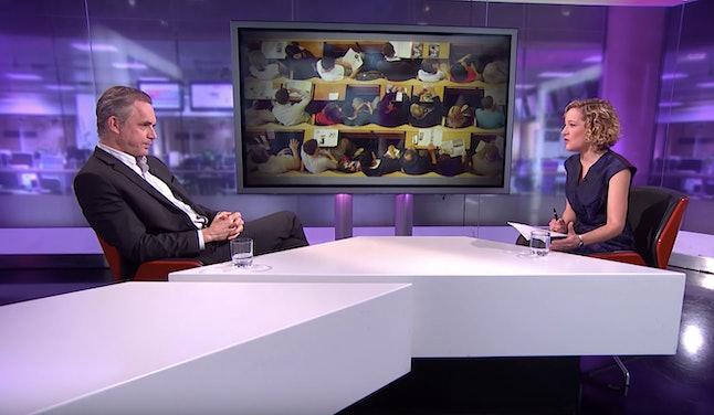Jordan Peterson's now-infamous Channel 4 interview
