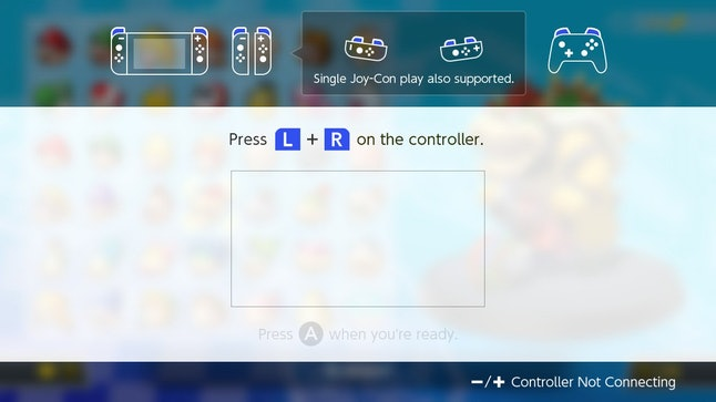 Mario Kart 8 Deluxe Switch And Wii U Controller Options
