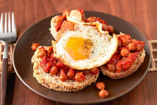 Spicy chickpeas recipe