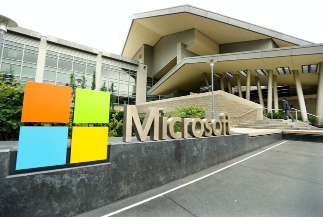 The Microsoft visitor center in Redmond, Washington