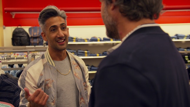 Tan France and Bobby in 'Queer Eye'