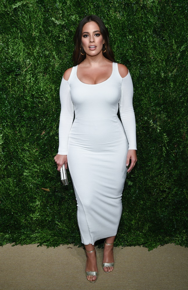 Ashley Graham at the 14th Annual CFDA Vogue Fashion Fund Gala