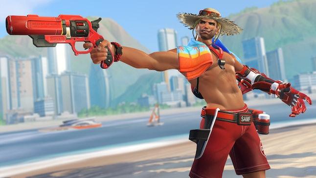 "McCree's Summer Games ""Lifeguard"" skin"