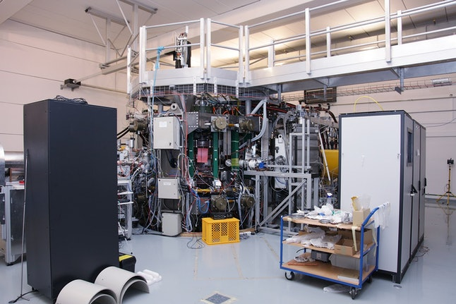 The Compass Tokamak is at the Institute of Plasma Physics in Prague.
