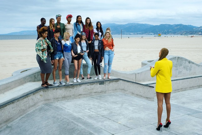 The top 15 on cycle 24 of 'America's Next Top Model'