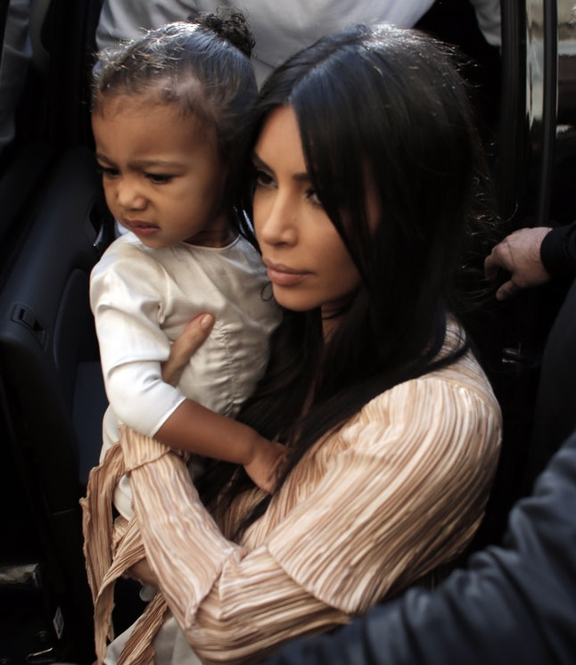 Kim Kardashian West and daughter North West