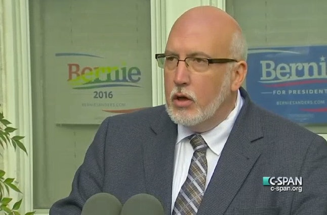 Sanders campaign manager Jeff Weaver