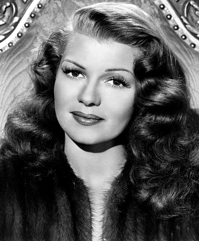 Actress Rita Hayworth in 1947