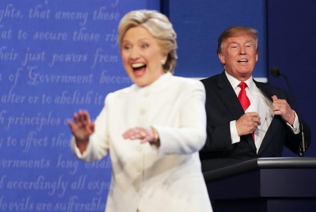 Wednesday's debate likely reinforced the status quo — one in which Clinton is winning handily.