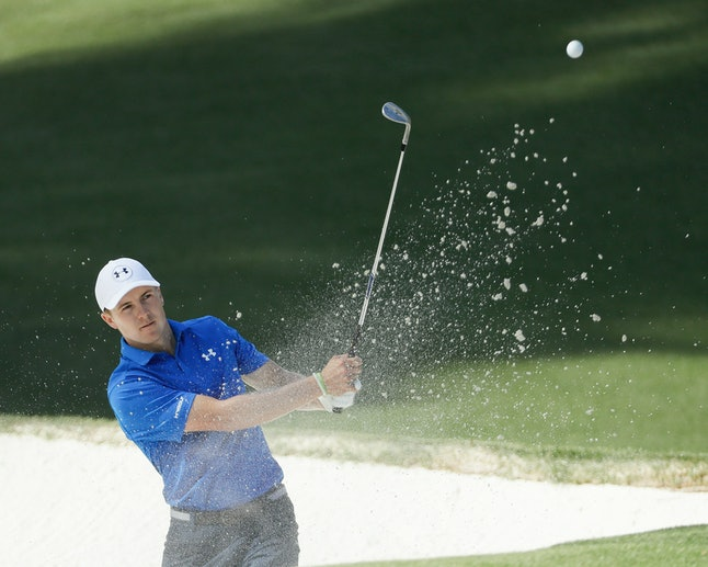 """Jordan Spieth """"became the first $22 million man in golf"""" in 2015, according to the PGA."""