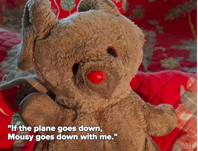 Megan's bear, Mousy