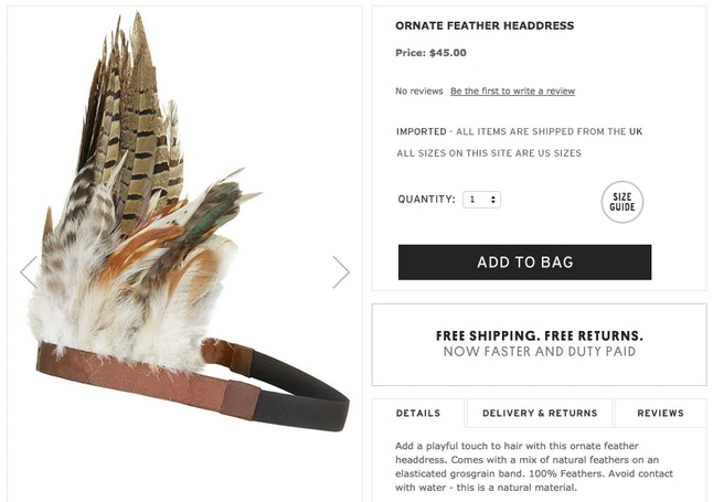5 Items Fashion Loves to Steal From Native American Culture