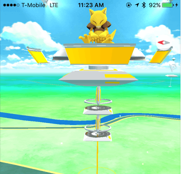 The more you know about who specifically is guarding this 'Pokémon Go' gym, the better you can put together the perfect Pokémon attack squad.
