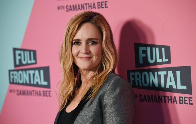 Samantha Bee, host of 'Full Frontal With Samantha Bee'