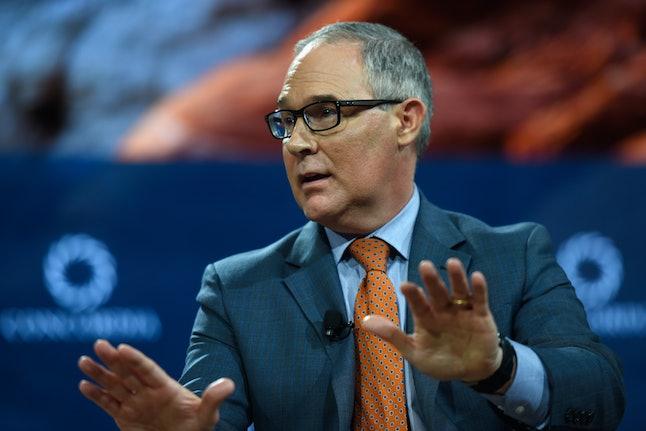 Scott Pruitt, administrator of U.S. EPA