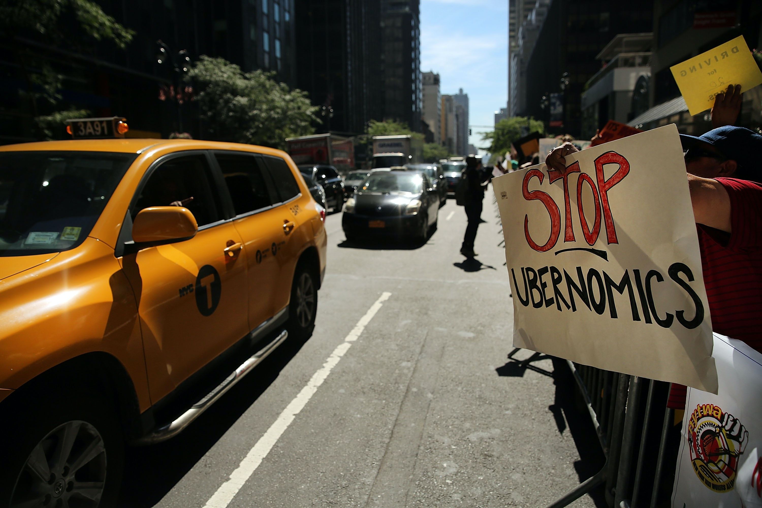New York City cab drivers face depression and debt amid