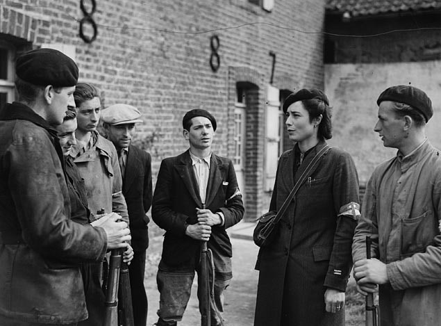 A group of French resistance fighters