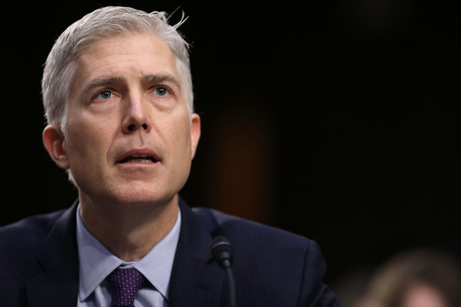 Neil Gorsuch was among the five Supreme Court justices to allow Arkansas to execute Ledell Lee on Thursday.