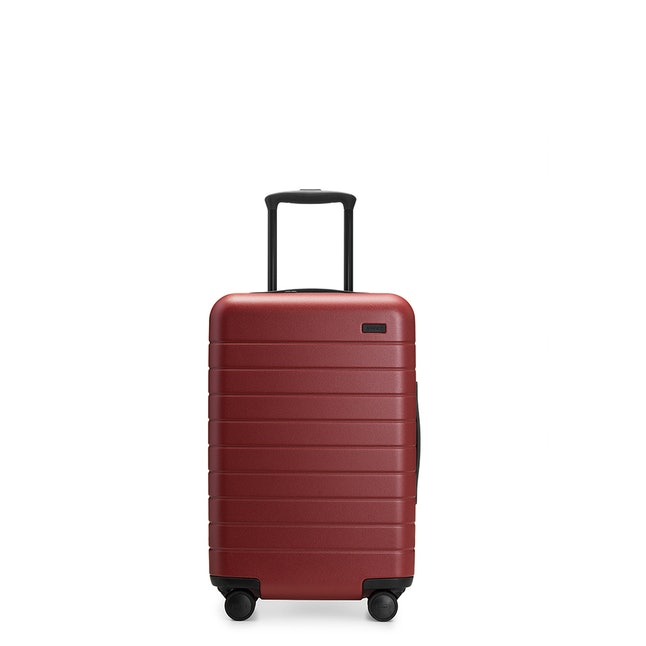 Away Carry-On in brick
