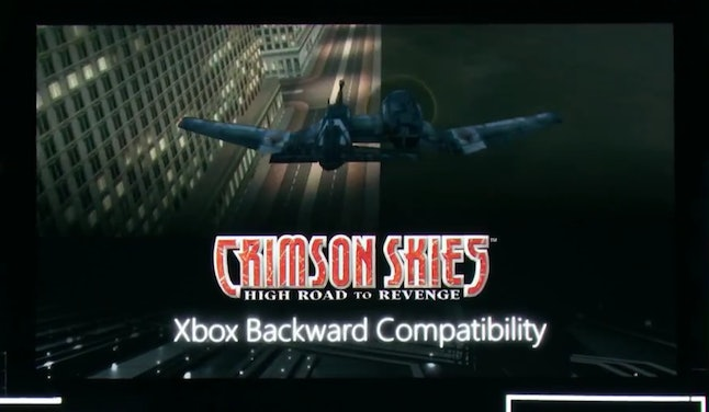 'Crimson Skies' will be one of the first original Xbox games available for Xbox One.
