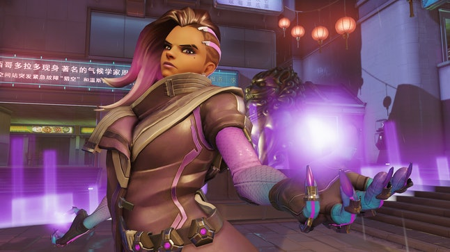 Sombra is the most recent new 'Overwatch' character, following Ana's release in July.